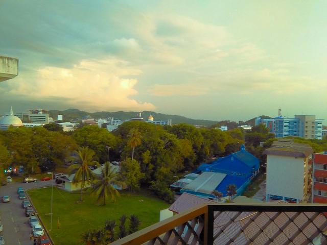 creamy turquoise 5:40pm-ish sunset