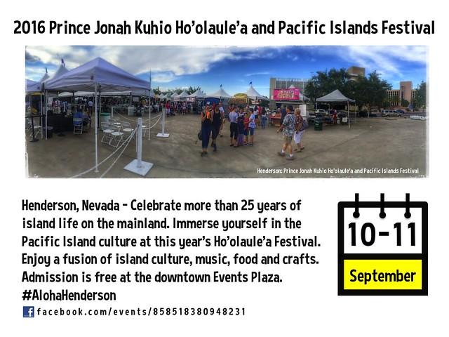 2016 Prince Jonah Kuhio Ho'olaule'a and Pacific Islands Festival @CityofHenderson