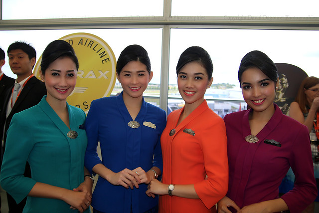 stewardesses Garuda indonesia