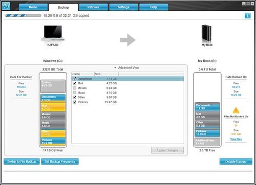 ใช้ WD SmartWare ช่วยในการแบ็กอัพข้อมูลง่ายๆ เลย