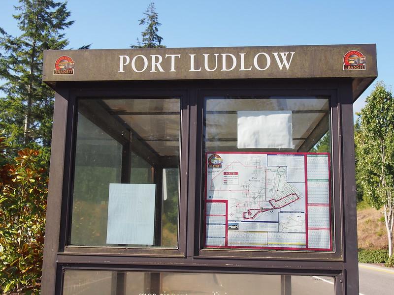Port Ludlow Bus Stop