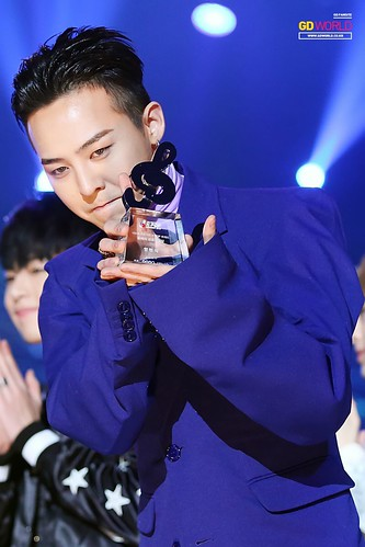 Big Bang - The 5th Gaon Char K-Pop Awards - 17feb2016 - GD World - 08