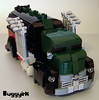 1 - LEGO Fuel Truck - Hot Wheels - Fast Gassin -  DHR67