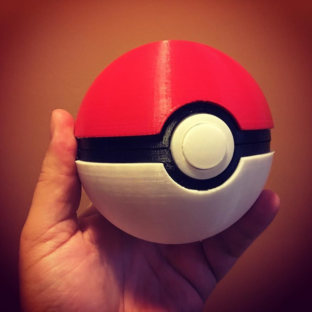 What you really need to catch them all #pokemongo #3dprinting #thing411193 #pokeball
