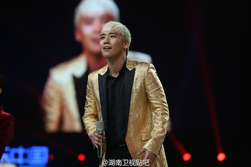 BIGBANG Hunan TV 2015-12-31 by 湖南卫视贴吧  (2)