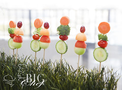 Veggie and Fruit Skewers