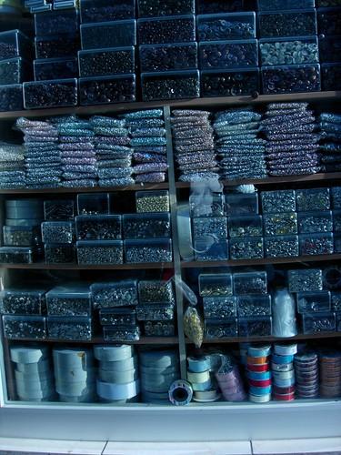 Botones en el mercado turco cerca del Bazar de las especias