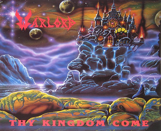 "Warlord Thy Kingdom Come 12"" Vinyl LP"