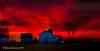 Farm Sunset Red
