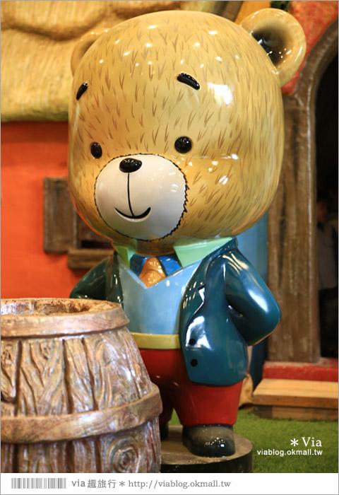 【熊大庄】嘉義民雄熊大庄森林主題園區~新觀光工廠報到!小熊的童話森林真實版18