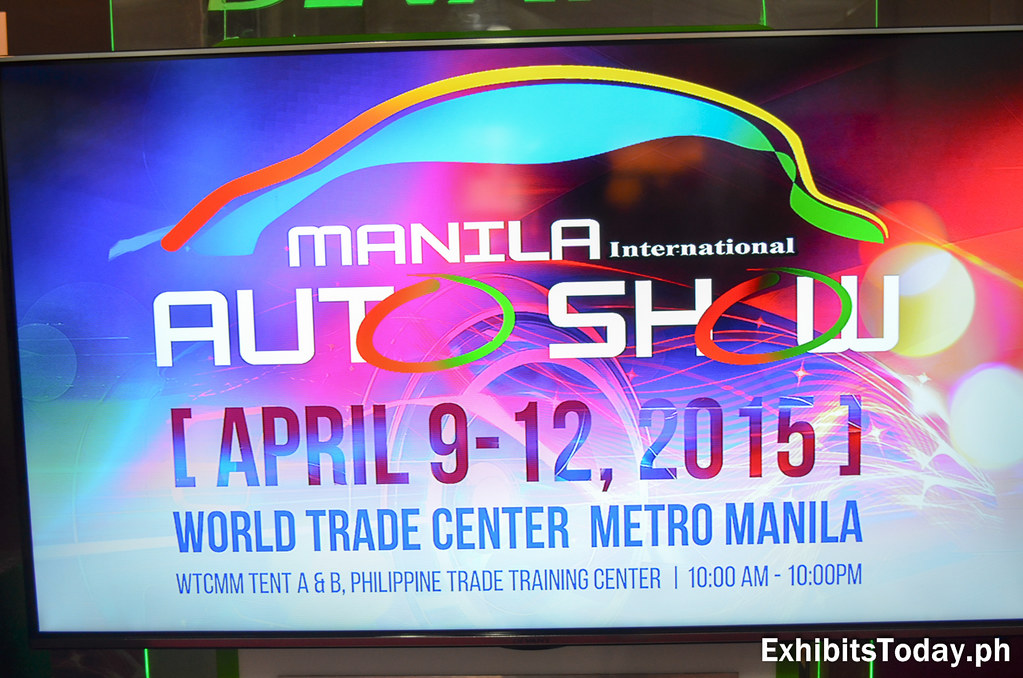 The Manila International Auto Show 2015