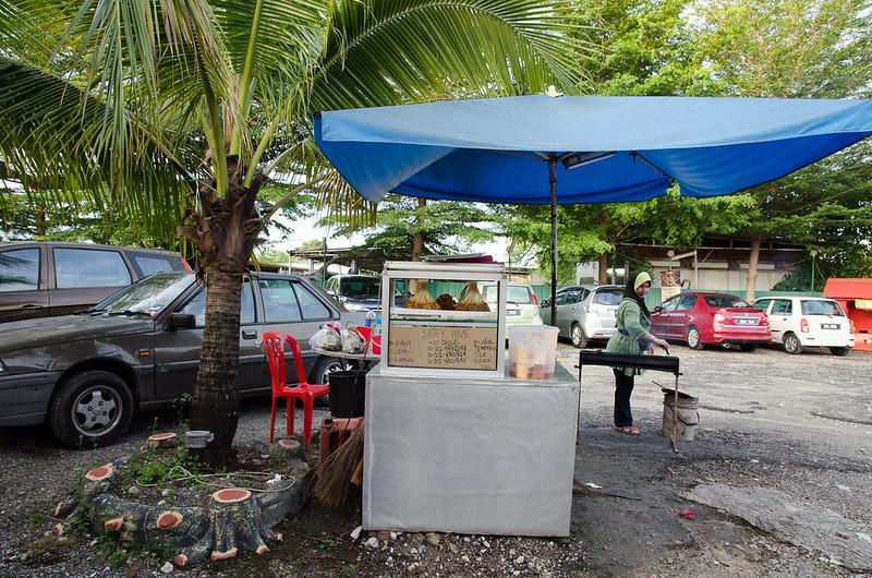 Lala Chong's satay stall