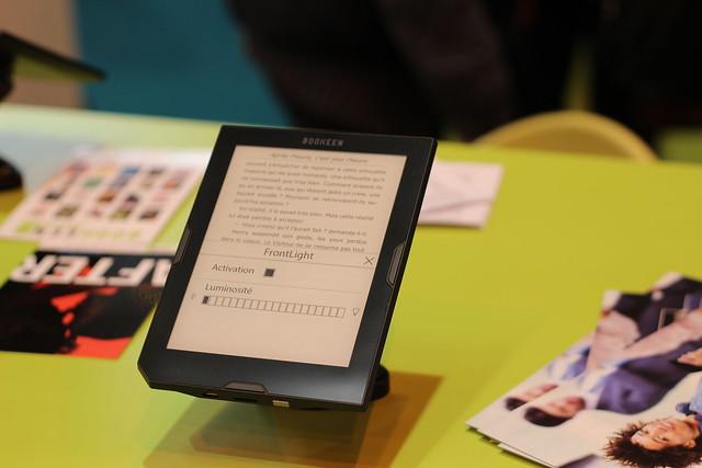 Bookeen - Salon du Livre de Paris 2015