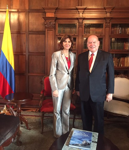OAS Secretary General Met with the Foreign Minister of Colombia