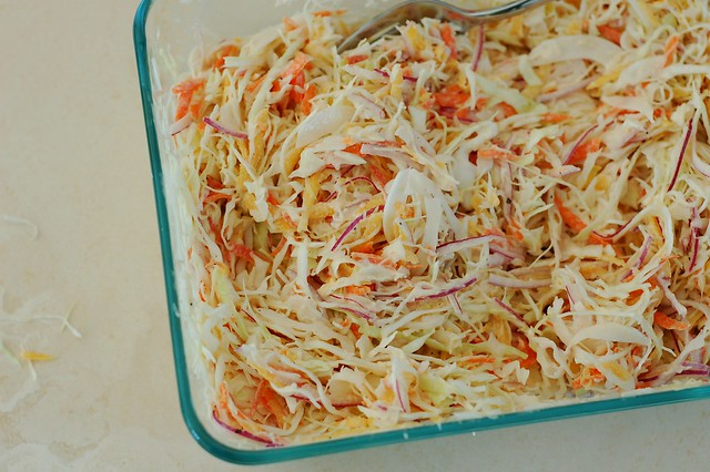 Confetti coleslaw by Eve Fox, The Garden of Eating, copyright 2015