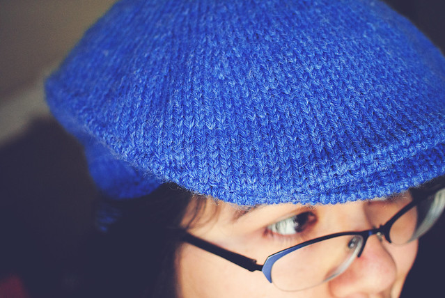 Knitting: Flat cap