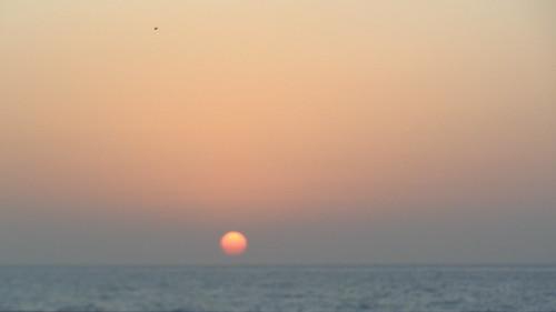 ocean sunset sea sky sun india water coast asia bombay mumbai indiansunset