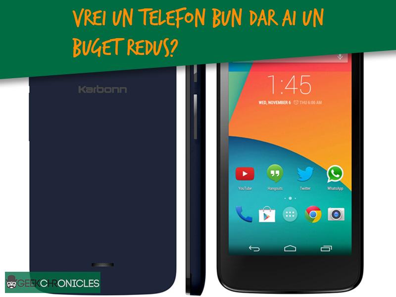 TOP 5 telefoane de buget
