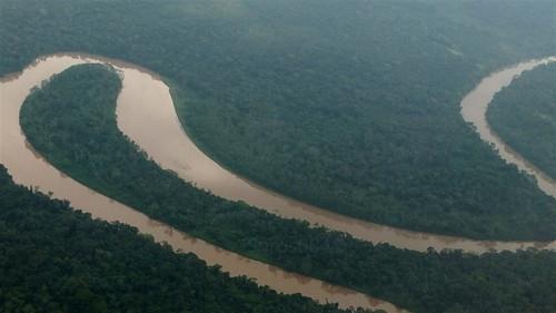 #Ecuador  Curvas del Río Napo #Amazonas
