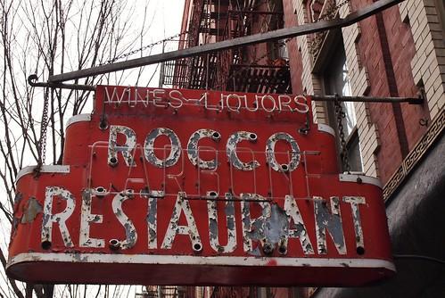 Former Rocco Restaurant