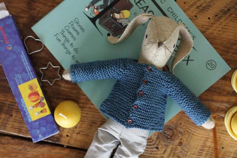 L's Peter Rabbit (Maggie bunny)