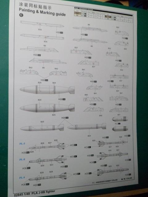 Ouvre boîte Shenyang J-8 II Finback B [Trumpeter 1/48] 16897813451_b29ed2df09_o