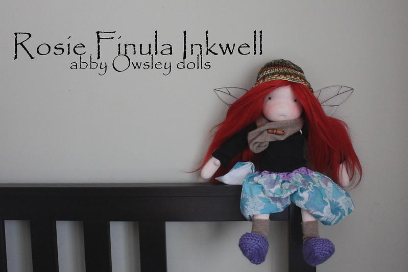 Winter Faerie  - Rosie Finula Inkwell
