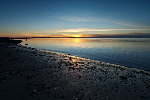 Crescent Beach sunset. Fine Art Photography by Daniel Burdett