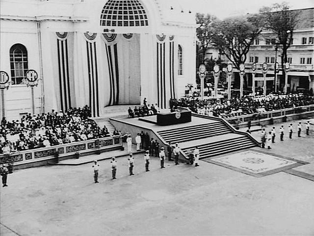 SAIGON 1967 - Lễ nhậm chức Nhiệm kỳ 1 của Tổng Thống VNCH Nguyễn Văn Thiệu (31-10-1967)