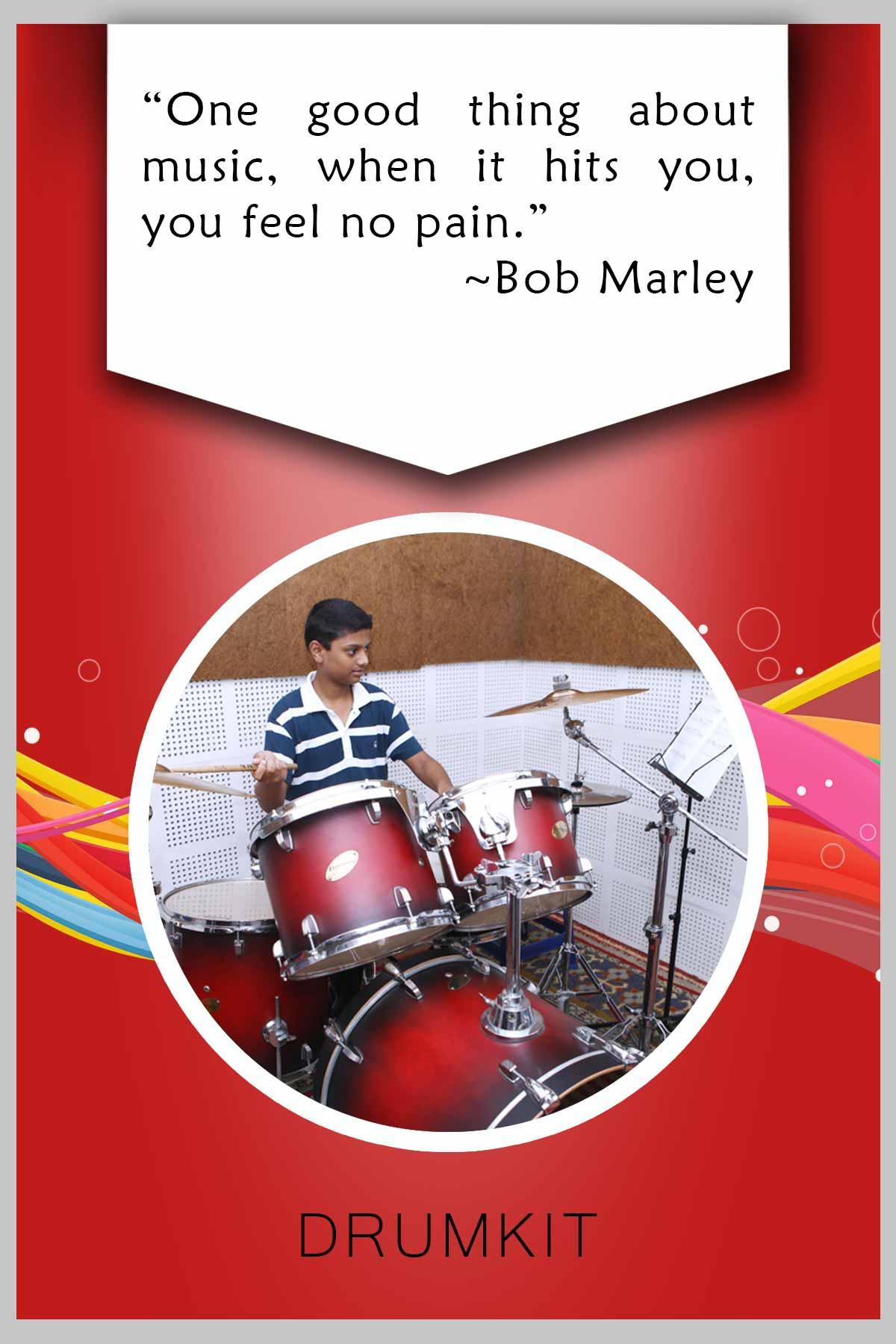 Drumkit by MCBS KalaGramam