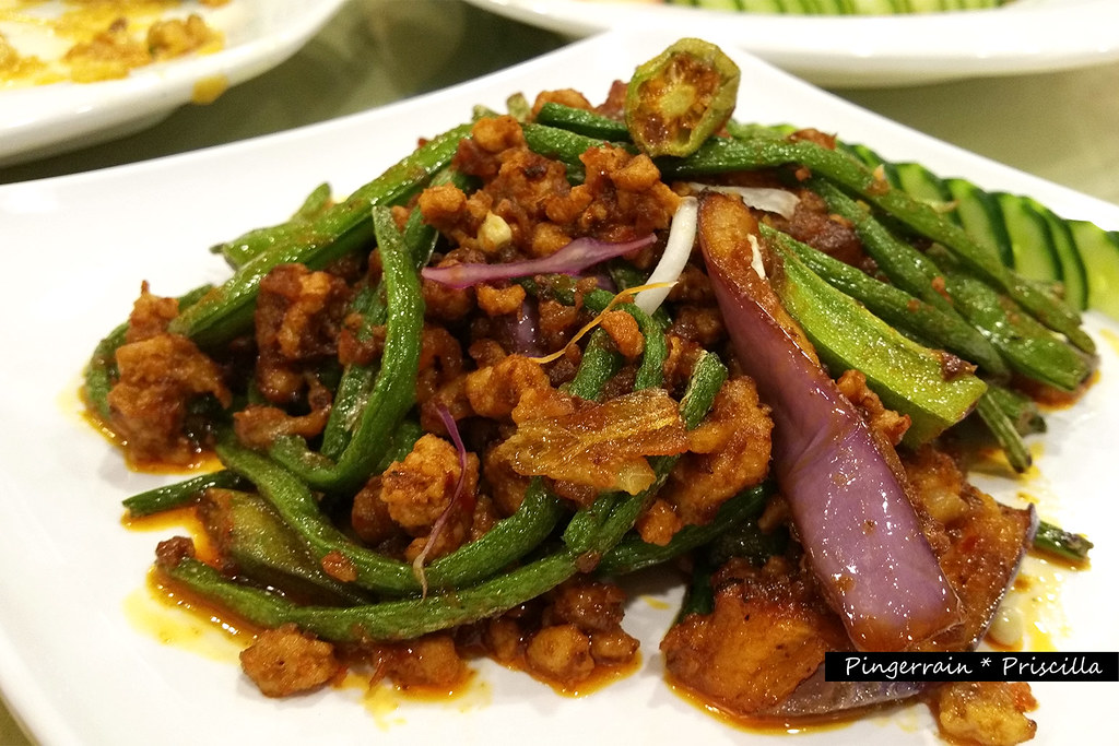 Four Heavenly Kings -  Assorted Vegetables in Sambal Sauce