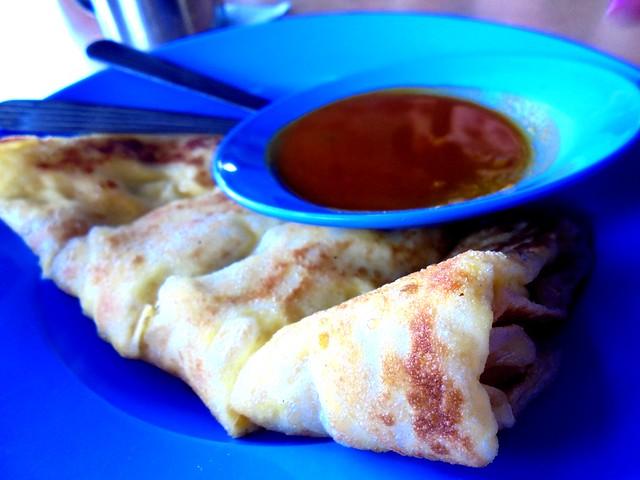 Chopsticks roti telur