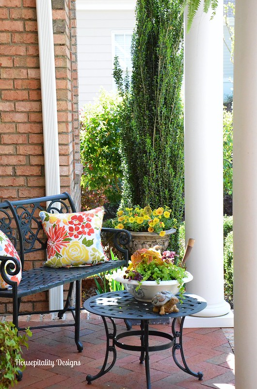 Spring Porch 2015-Housepitality Designs