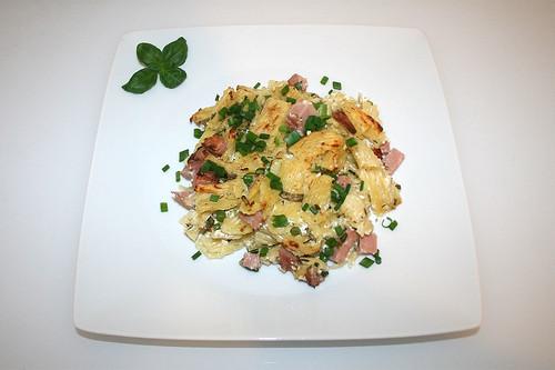27 - Rigatoni curd gratin - Served / Rigatoni-Quark-Gratin - Serviert