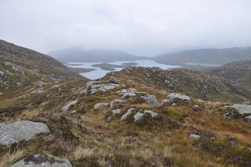 Loch Enoch from Craig Neldricken