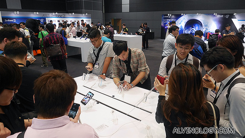 ASUS ZenFone2 Launch in Singapore - Alvinology