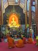 Monks in a Buddhist wat