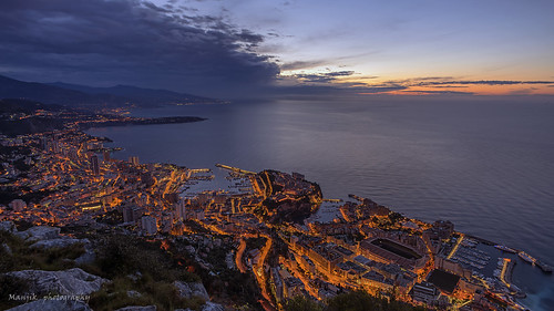 city travel blue light sunset sea sky france building tourism nature water beauty skyline architecture night port marina sunrise french landscape evening coast harbor boat europe downtown mediterranean riviera sailing cityscape view cloudy yacht dusk culture aerial casino montecarlo monaco illuminated coastline carlo cote monte luxury d810 manjik