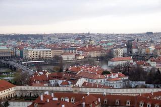 view of the Vltava
