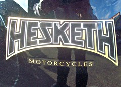 Hesketh Motorcycles.