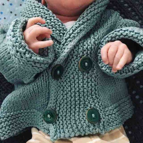 Five years old and this Iceling Cardigan by @feller.carol is still soft, warm, and cosy. http://www.ravelry.com/patterns/library/iceling-cardigan #knitting #knitstagram #icelingcardigan #stolenstitches #baby #babyknits #babycardigan #handknit