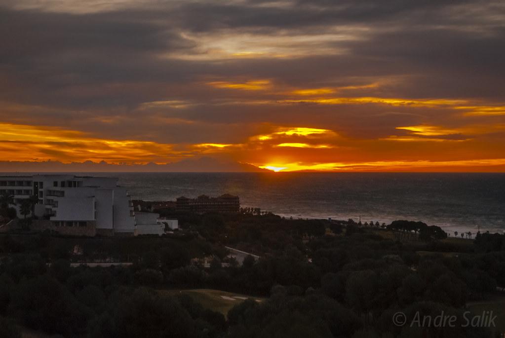 зимний рассвет на Средиземном  DSC_8232