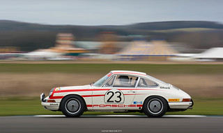Richard Attwood - 1965 Porsche GB Ltd 911 - 2015 Goodwood 73rd Members' Meeting