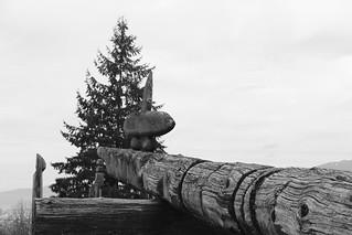 burnaby mountain totems