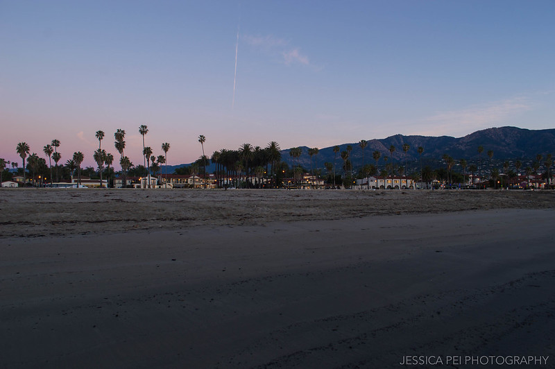 Santa Barbara California Sunrise on Beach