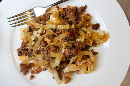 Unstuffed Cabbage Casserole :: coppertopkitchen.blogspot.com