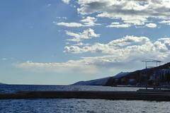 View from Opatija, Croatia
