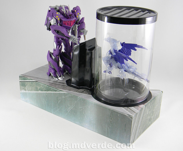 Transformers Shockwave Voyager - Generations SDCC Exclusive (Shockwave's Lab) - modo Shockwave's Lab