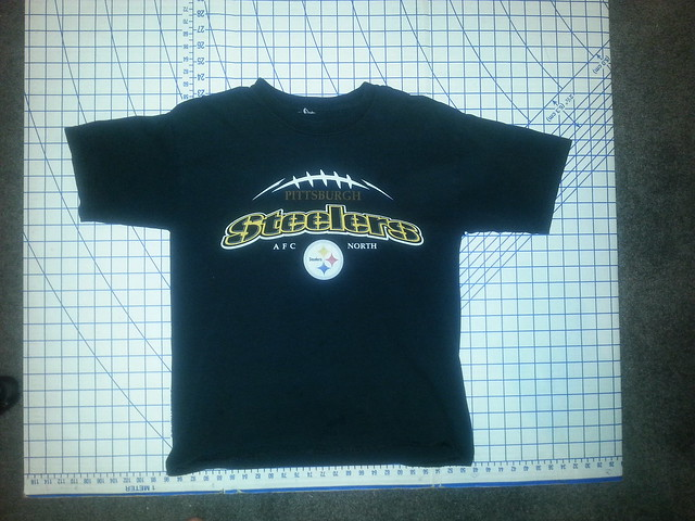 Steelers shirt before