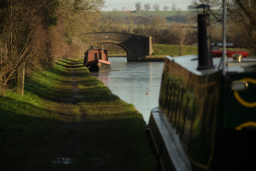 20141231-05_Braunston - Moored Narrow Boats Oxford Canal